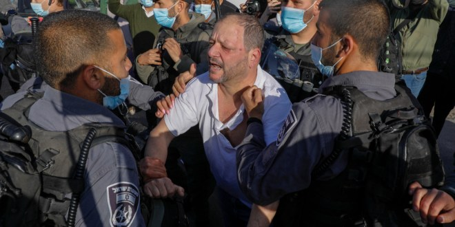 Video shows police beating Israeli politician in Jerusalem