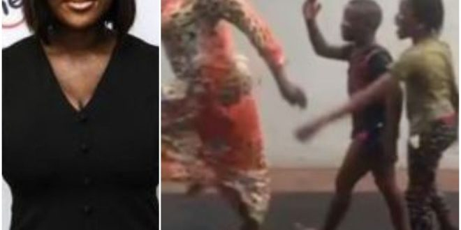 Aunty Way Dey Break Rules- Mercy Johnson Says As She's Caught Doing This With Her Children