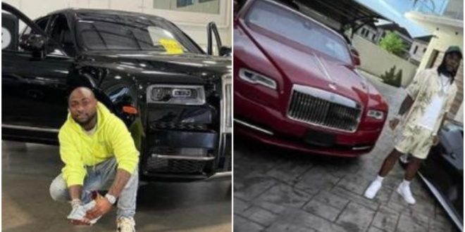 Burna Boy's PA , Manny Reveals The Unknown About His Rolls Royce To Shade Davido Who Recently Bought His