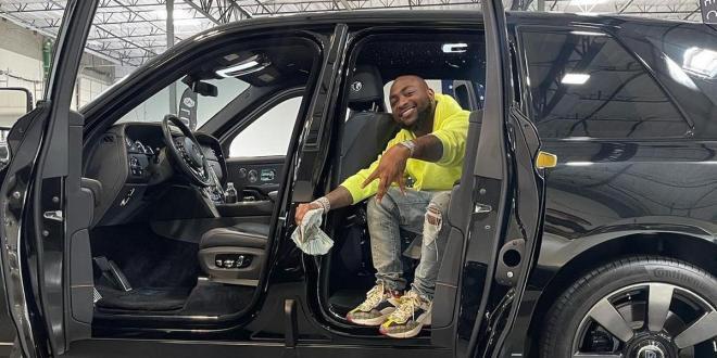 Davido buys Rolls Royce worth N183M