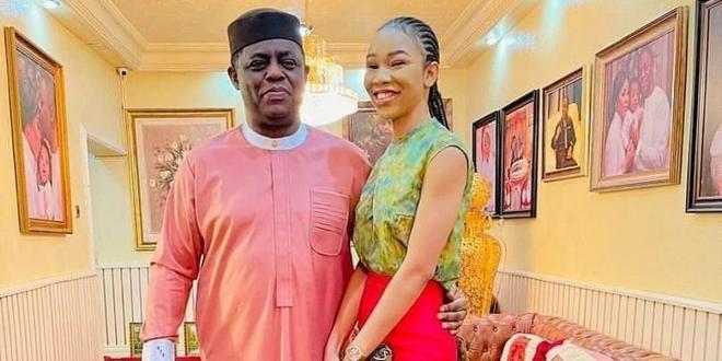 Former minister Femi Fani-Kayode has a new girlfriend; who is she?