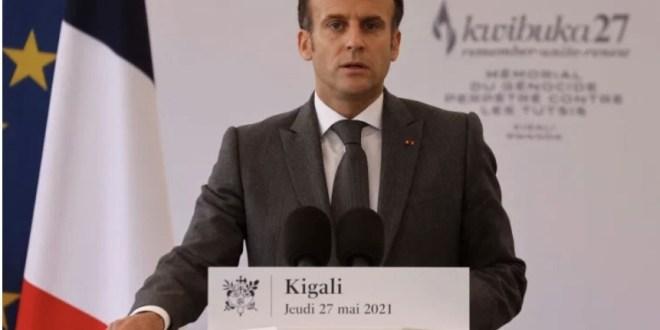 French president Emmanuel Macron seeks forgiveness for France