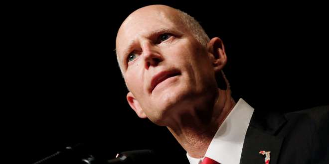 GOP Senator Rick Scott is Pleading With Trump to Stop Threatening GOP Incumbents With Primary Opponents
