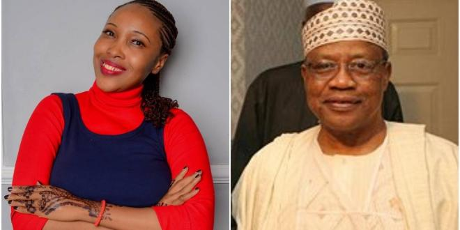 Kannywood actress Ummi Ibrahim says former Head of State General Ibrahim Badamasi Babangida was her boyfriend