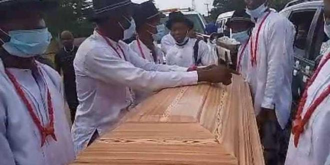 Tears as comedian Ada Jesus is laid to rest