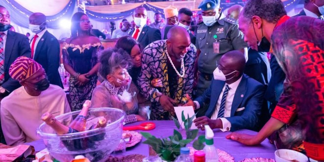 Update: Yeni Kuti denies reports her brother, Seun, disrespected Governor Sanwo-Olu at her party