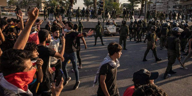 Video: Thousands Protest Killings in Iraq