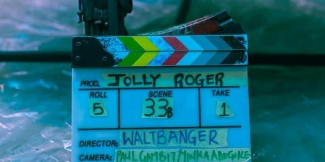 Walter 'Waltbanger' Taylaur next movie is a Nolly noir crime thriller titled 'Jolly Roger'