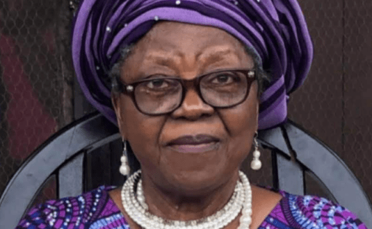''We'll continue to honour her''- President Buhari mourns composer of National pledge, Professor Adebola Adedoyin