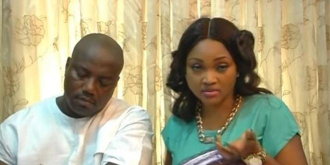 Mercy Aigbe and her estranged husband Lanre Gentry drag each other on Instagram over Father's Day post