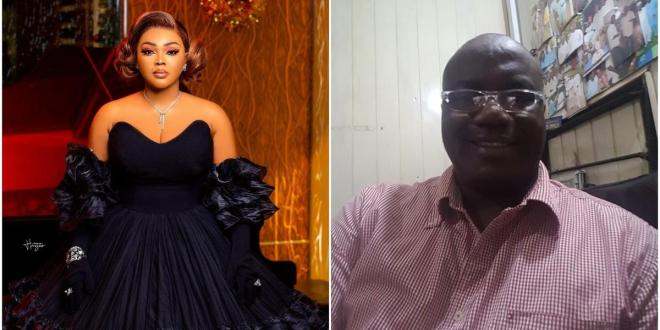 Mercy Aigbe's estranged husband calls her a prostitute as they continue to drag each other on IG