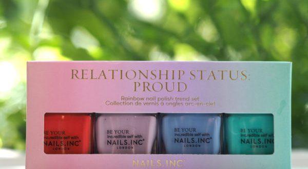 Nails Inc Relationship Status : Proud   British Beauty Blogger