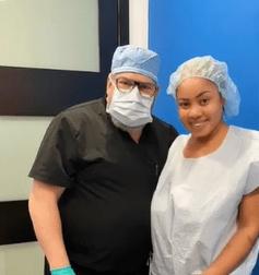 Reality TV star, Nina, undergoes plastic surgery