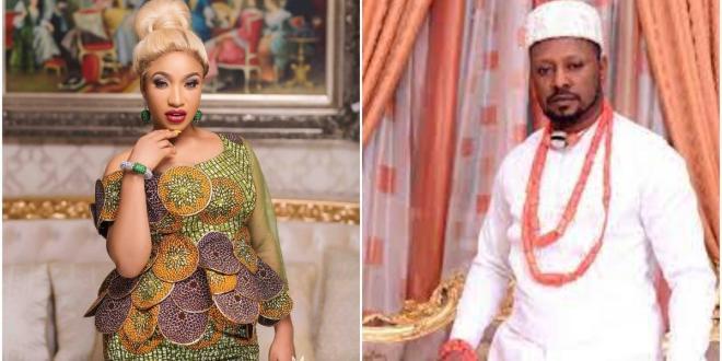 Tonto Dikeh is reportedly dating activist Prince Kpokpogri
