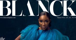 Idia Aisien covers Blanck magazine's latest edition, talks Nollywood journey