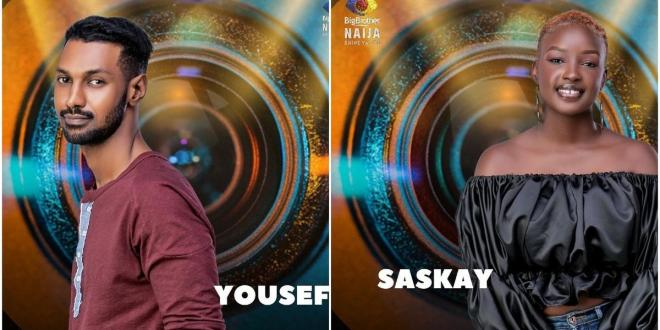 BBNaija 2021: Yousef and Saskay have been evicted
