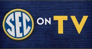 SEC football TV schedule for games of October 2