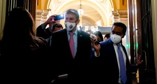 Democrats lobby Manchin as they race to seal a deal on their domestic agenda.