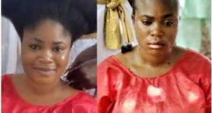 PHOTO: Nollywood Actress, Eniola Ajao Goes Completely Bald For A Movie Role