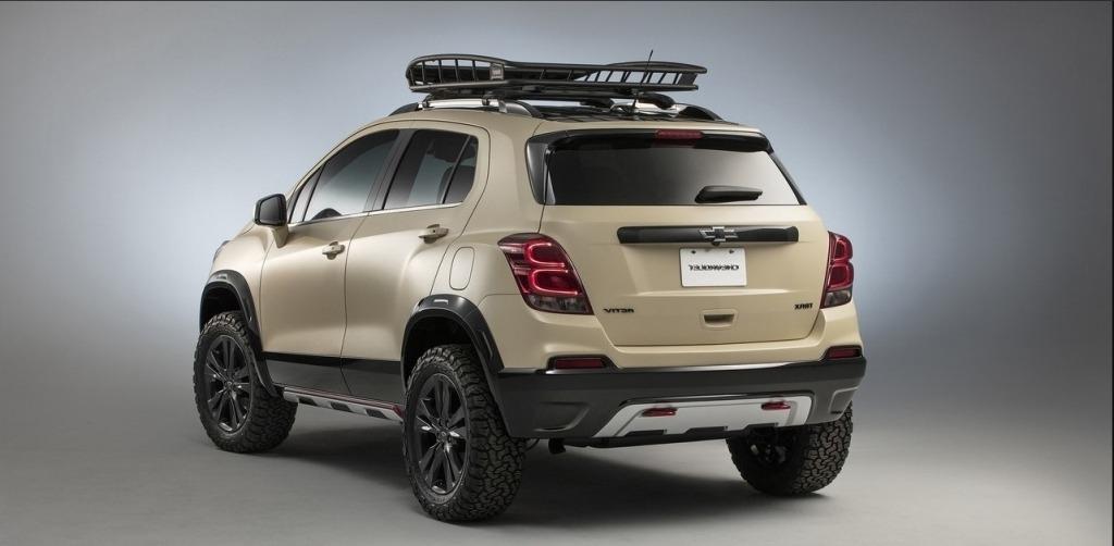 2019 Chevy Trax Spy Shots