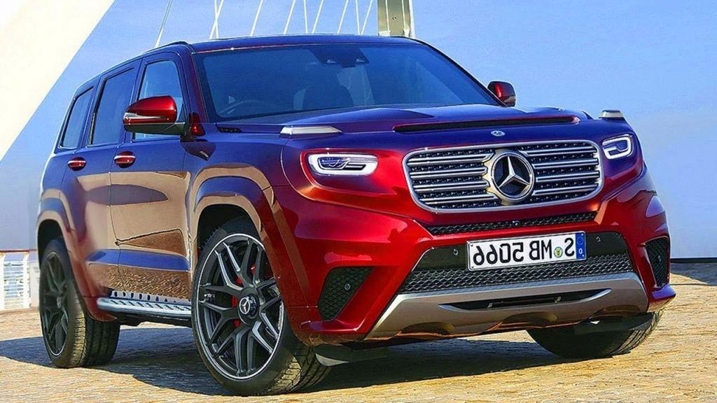 2020 Mercedes GLG Spy Shots