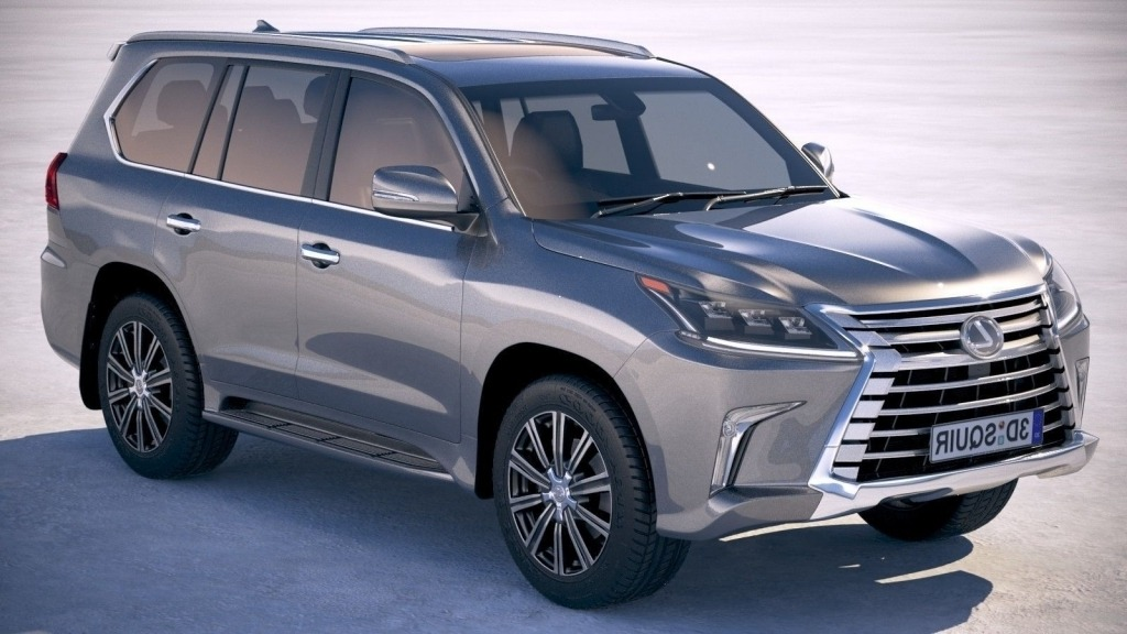 2021 Lexus LX 570 Wallpapers