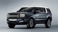 2021 Ford Excursion Spy Shots