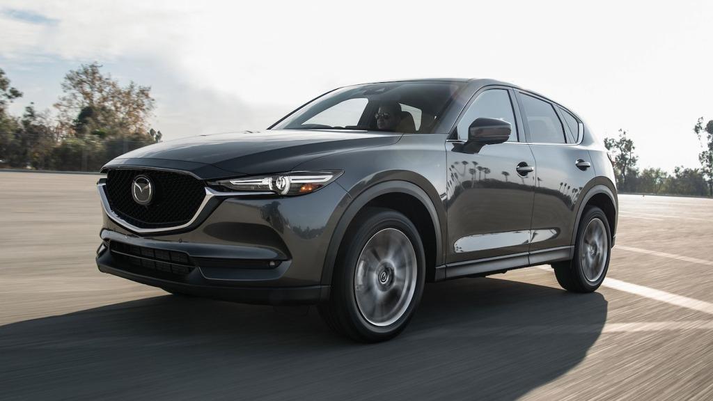 2021 Mazda CX5 Drivetrain