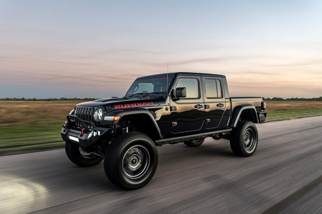 2021 Jeep Gladiator Hennessey Maximus Exterior