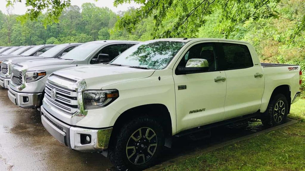 2021 Toyota Tundra TRD Pro Drivetrain