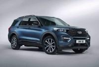 2021 Ford Explorer Spy Photos