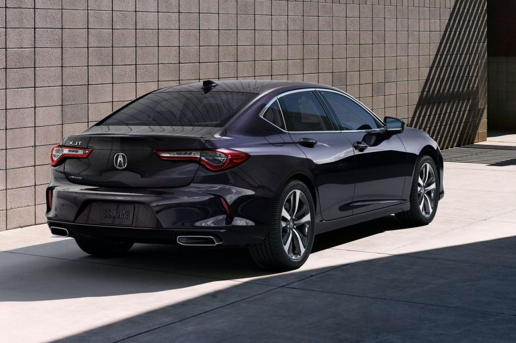 2021 Acura RLX Spy Photos