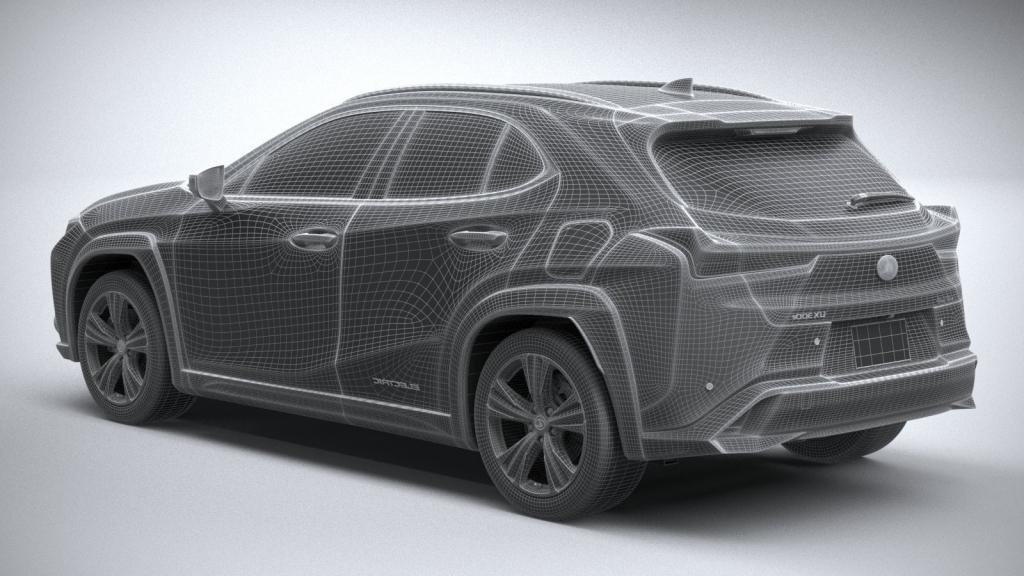 2021 Lexus UX 300e Redesign