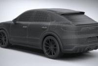 2022 Porsche Cayenne GTS Coupe Engine