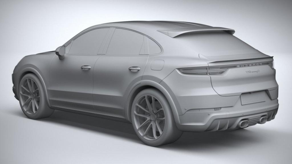 2022 Porsche Cayenne GTS Coupe Exterior