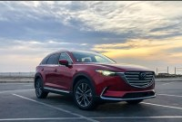 2022 Mazda CX9 Spy Shots