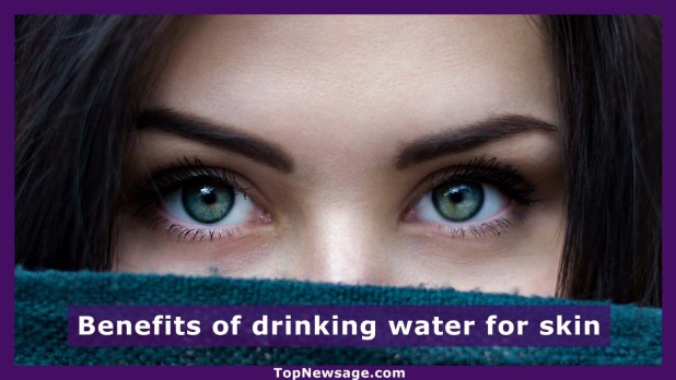 benefits of drinking water for skin