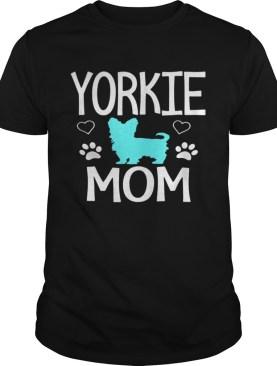 Love Yorkie Mom Yorkshire Terrier shirt