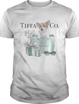 Dachshund Tiffany and CO shirt
