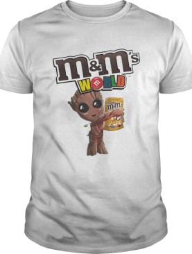 M and Ms World Baby Groot Version Shirt