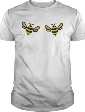 Save The Bees Bumblebee Boobies Boobees Funny shirt