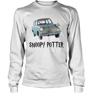 Snoopy driving Harry Potter LongSleeve