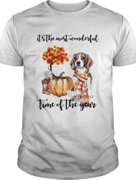 Halloween Beagle Its The Most Wonderful Time Of The Year Shirt