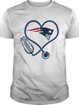 New England Patriots nurse heart shirt