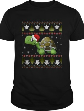 Funny Turtle Ugly Christmas for Kids and adults TShirt