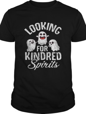 Top Ghosts Looking For Kindred Spirits Spooky Halloween shirt