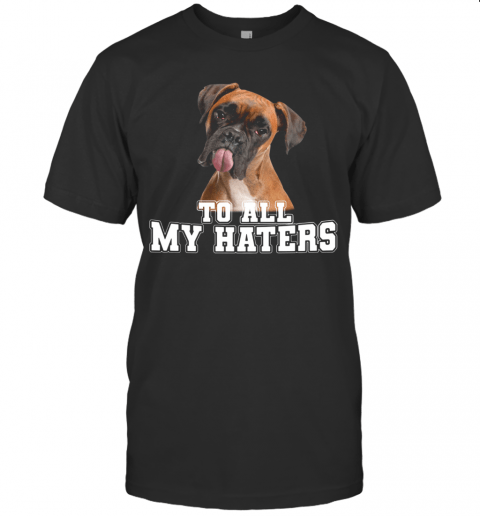 Boxer To All My Haters T-Shirt Classic Men's T-shirt