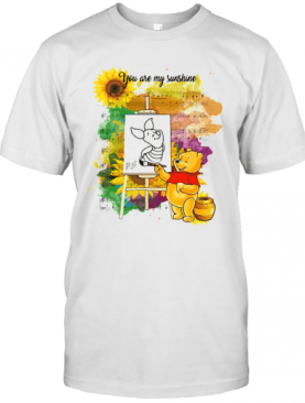 Pooh You Are My Sunshine Sheet Music T-Shirt