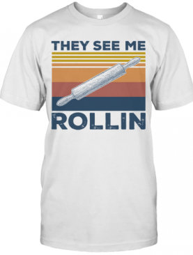 Vintage They See Me Rollin T-Shirt