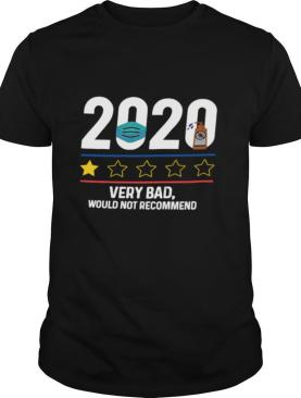 2020 very bad would not recommend mask and washing hand shirt